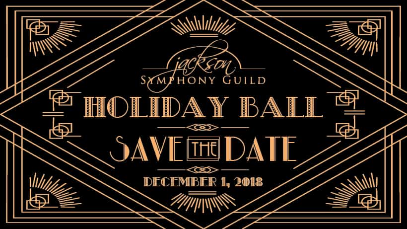 Save the Date Holiday Ball 2018